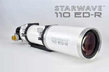 "Starwave 110ED Refractor Telescope with 2.5"" R&P Focuser"